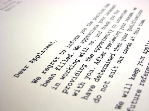 bigstock-Rejection-Letter-106138